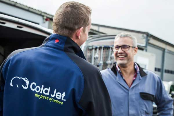 Cold Jet Werbefotos von PM Studios