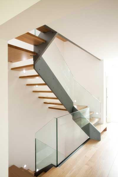 Die Treppe von ETS , abgelichtet von PM Studios