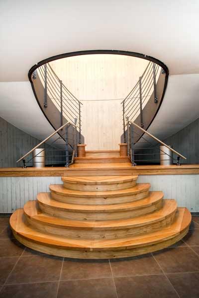 Die perfekte Treppe, Innenarchitektur künstlerisch abgelichet von PM Fotostudios
