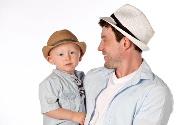Auch Mit Hut, eine Portraitserie für die Familie von PM Fotostudios