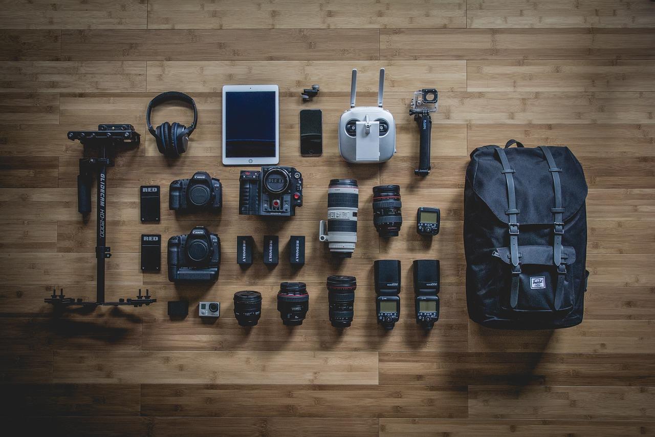 Fotoausrüstung Stilleben Fotografie