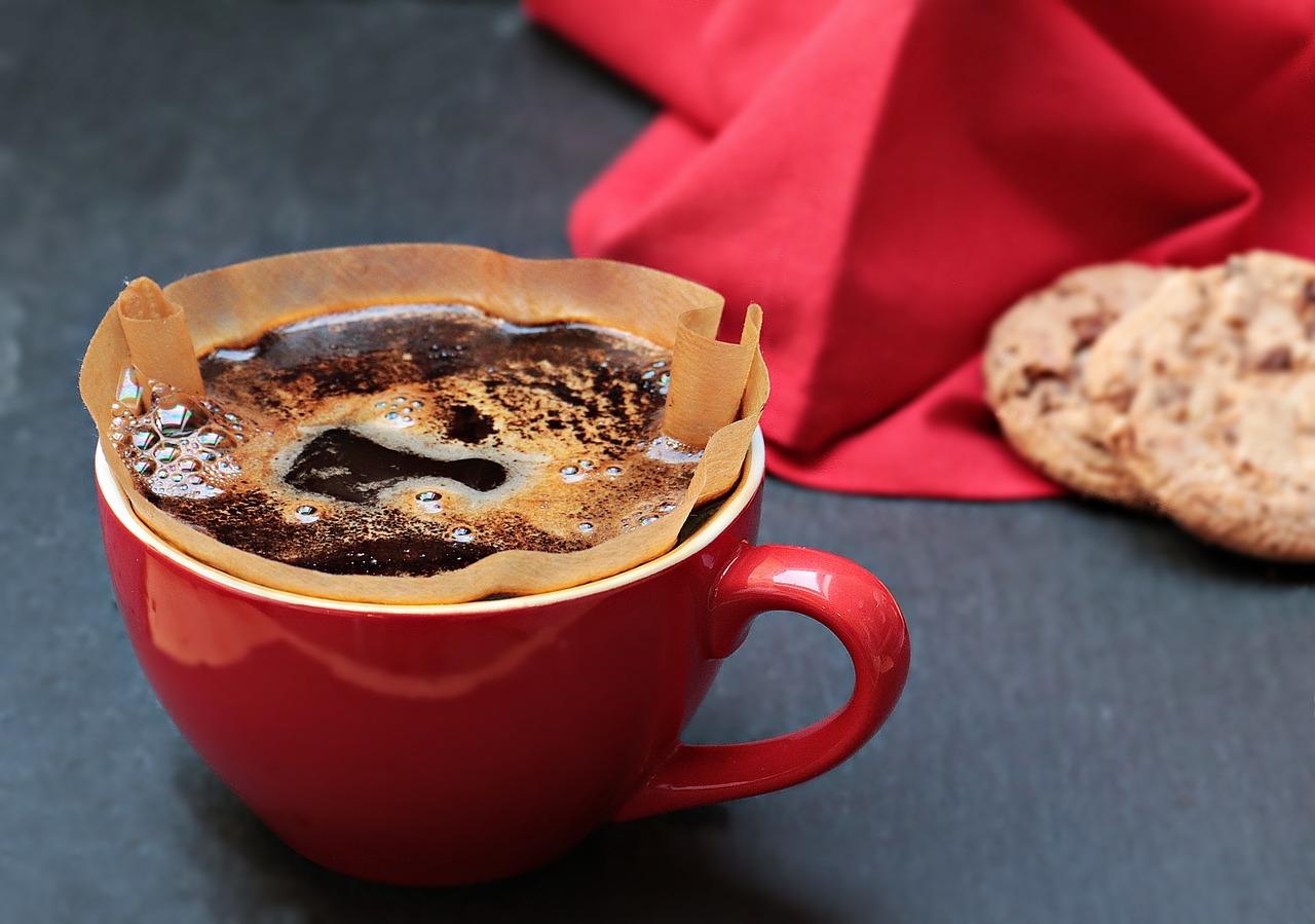 Kaffeefilter als Fotografiehack